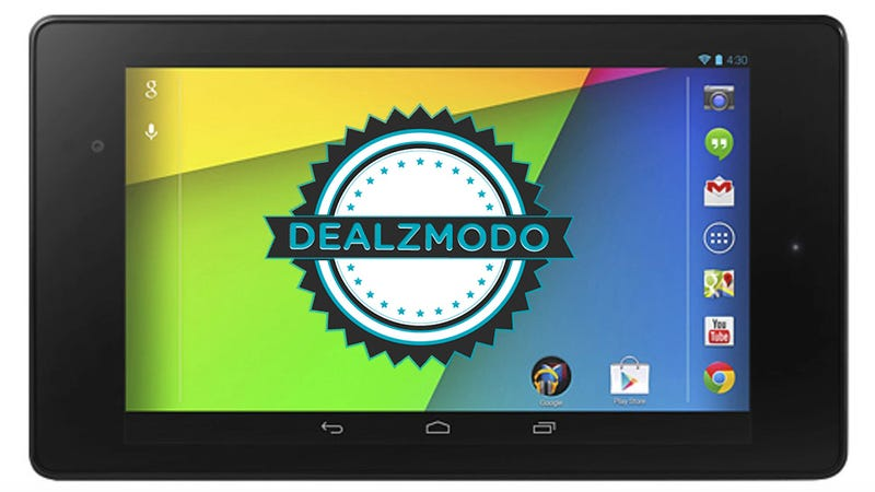 Illustration for article titled Dealzmodo: $30 Off The New Nexus 7 [GONE]