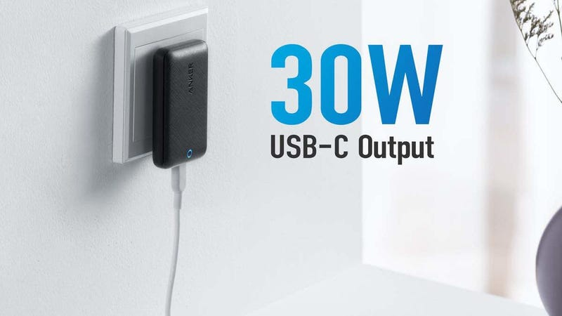 Anker 30W Slim USB-C GaN Charger | $28 | Amazon | Promo code ANKER141