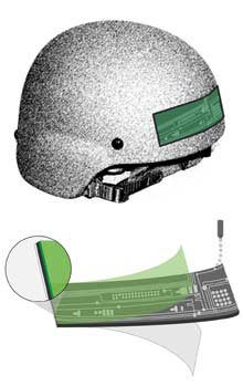 Illustration for article titled Inkjet-Printed Adhesive Sensor Strip To Measure Soldiers' Blast Exposure