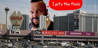 Illustration for article titled CTIA Wireless 2008: We're Here!