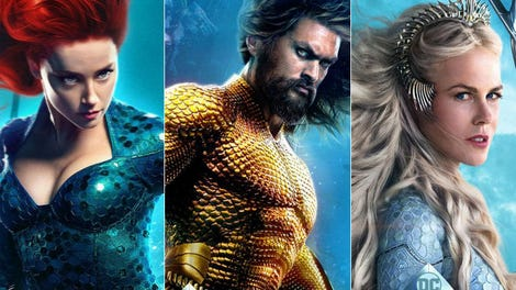 Aquaman Movie First Reactions: A Wild, Epic Adventure