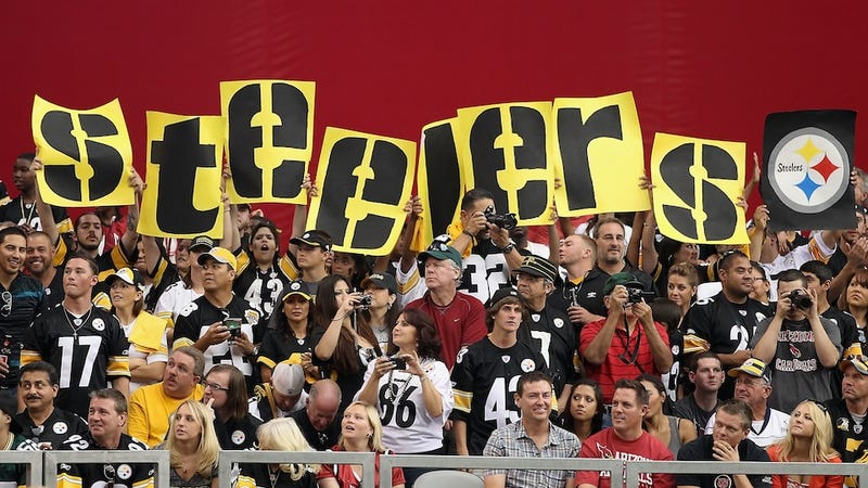 Some people are fans of the Pittsburgh Steelers. But many fc416eb6c