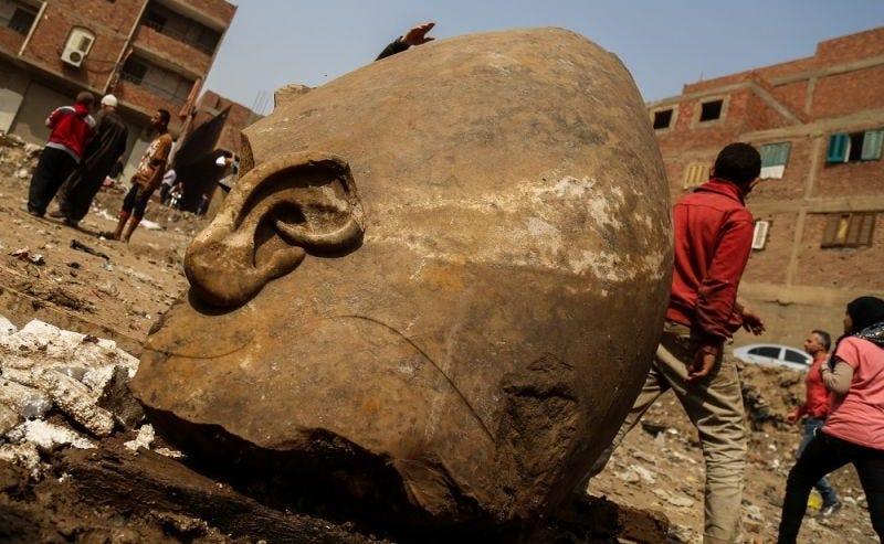 La estatua encontrada en El Cairo no era de Ramsés II