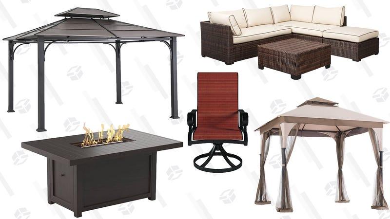 Attractive Ashley Furniture Outdoor Furniture Sale | Amazon Sunjoy Gazebo Sale |  Amazon Graphic: Shep McAllister