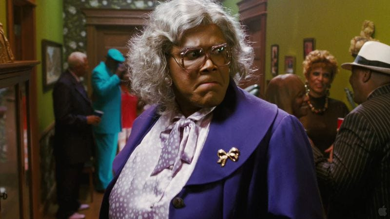 Illustration for article titled Don't worry, Tyler Perry will continue making Madea movies for years to come