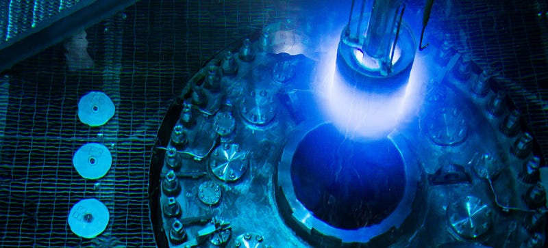 Illustration for article titled Isotope Reactor Basically Looks Like a Sci-Fi Weapon in These Photos