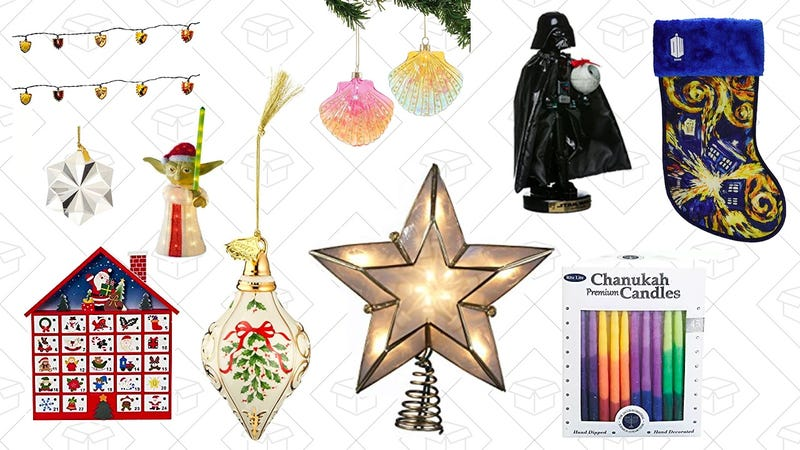 Holiday Decorations Gold Box | Amazon