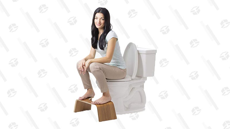 Squatty Potty Bathroom Toilet Stool   $41   Amazon