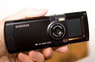 Illustration for article titled Samsung's i8510 Boasts Almost Everything, Plus An 8 Megapixel Camera