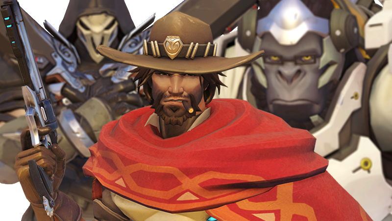 Illustration for article titled Winston And Reaper Take On McCree In One Raw Overwatch Diss Track