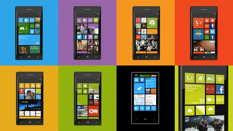 Illustration for article titled The Windows Phone 8 Start Screen Is the Best of Any Phone