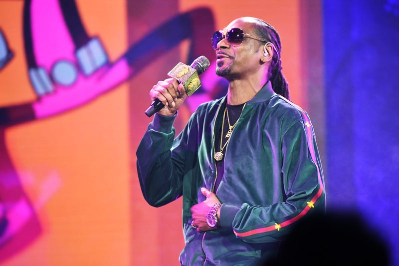 Snoop Dogg in New York City on May 16, 2018