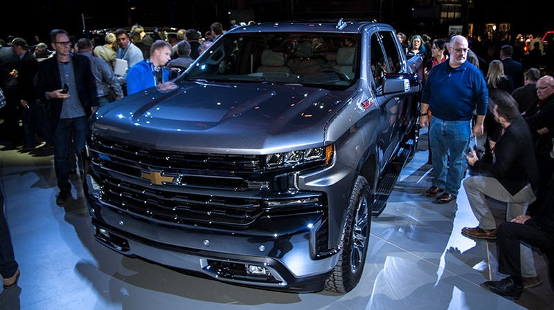 Chevy Ss Interior >> The 2019 Chevy Silverado 1500 Is Getting A Diesel