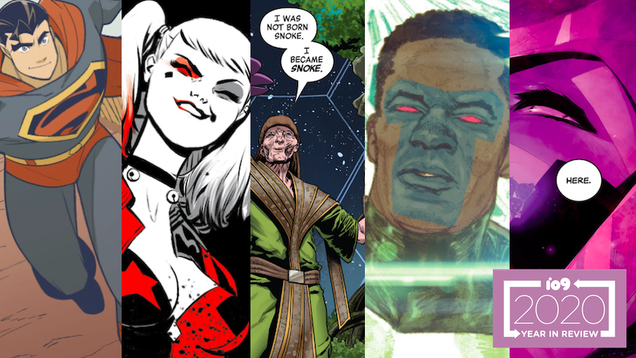 Our Favorite Comic Moments of 2020