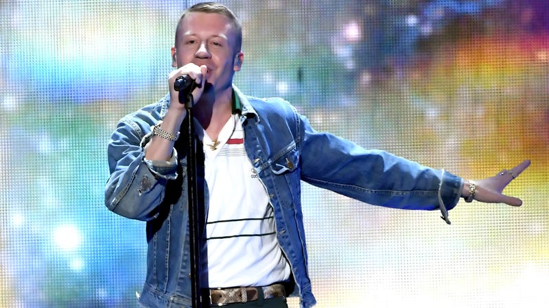 People want to stop Macklemore performing 'Same Love' at Rugby final