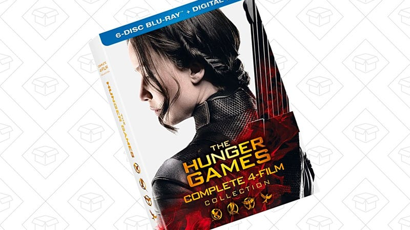The Hunger Games: Complete 4 Film Collection [Blu-ray] | $20 | Amazon