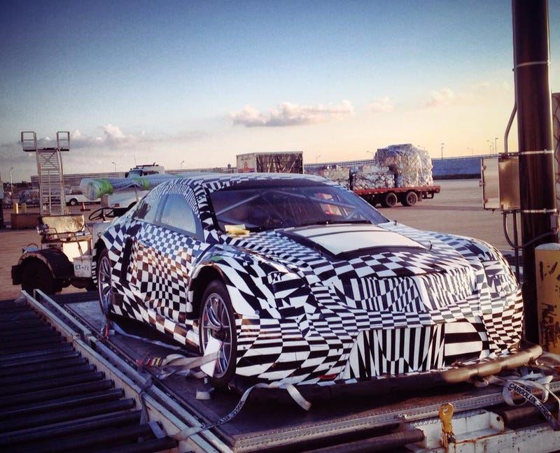 Illustration for article titled Cadillac ATS-V GT3 spotted?