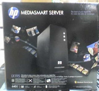Illustration for article titled HP's MediaSmart Server LX195 Leaked, Is a More Compact Windows Home Server