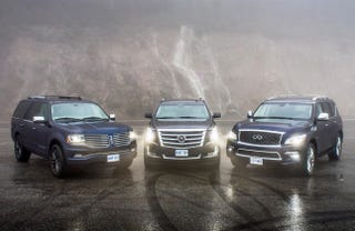 Illustration for article titled Are Luxury SUV's the Next Land Yachts?