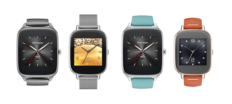 Illustration for article titled New Asus ZenWatch2 Comes in Two Sizes and Features Digital Crown