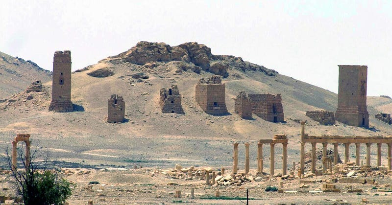 Illustration for article titled Más destrucción en Palmira: ISIS vuela tres tumbas de hace más de 2.000 años