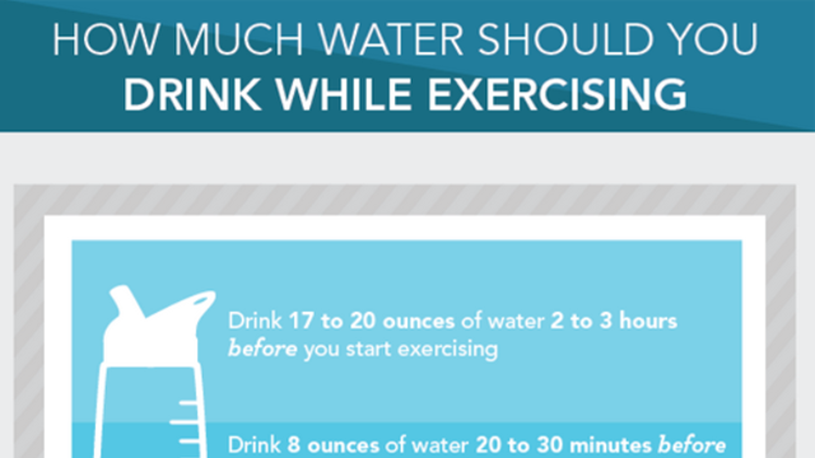 Should I Drink Water Before Or After Workout