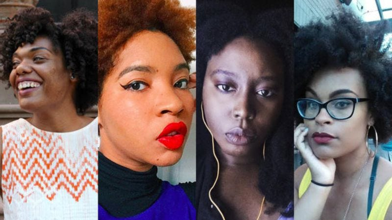 Minaa B, Ashley Reese, Zeba Blay, and Angelica Jade Bastien (Photo: The Huffington Post)