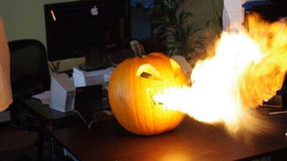 Illustration for article titled How to Build Your Very Own Flamethrower Jack-O'-Lantern