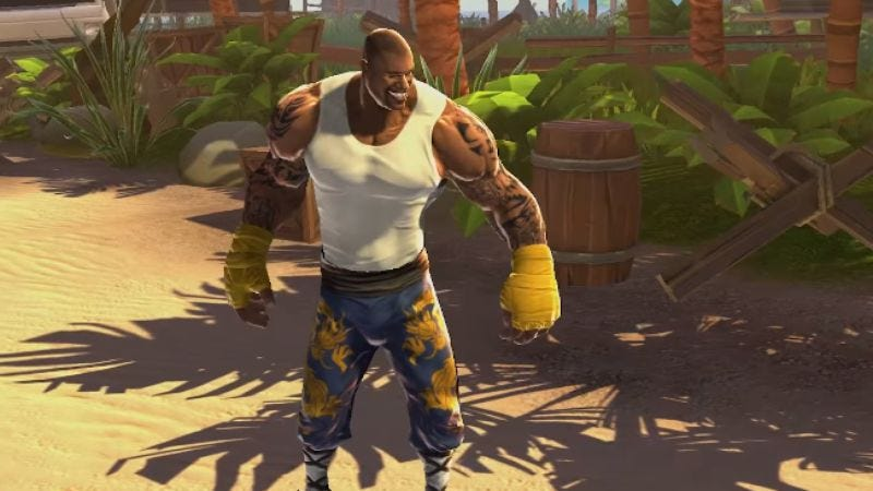Illustration for article titled Shaq Fu 2 is real and there's a trailer to prove it