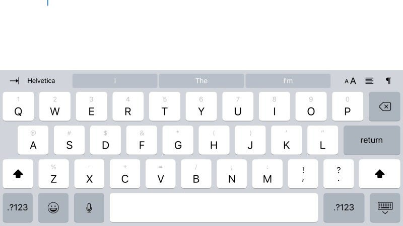 How to Use iOS 11's New iPad Keyboard (and Uninstall It If