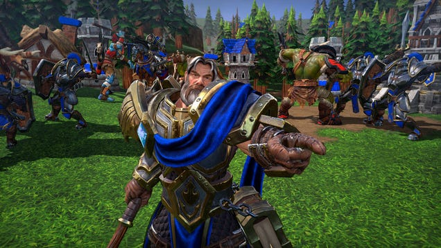 Blizzard Owns Your Custom Warcraft 3: Reforged Games