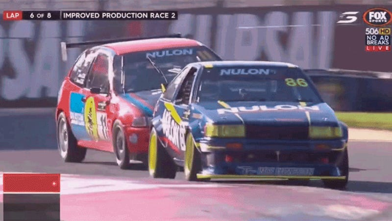 This AE86 VS. Honda Civic Battle Is The Best Race I've Seen In Forever