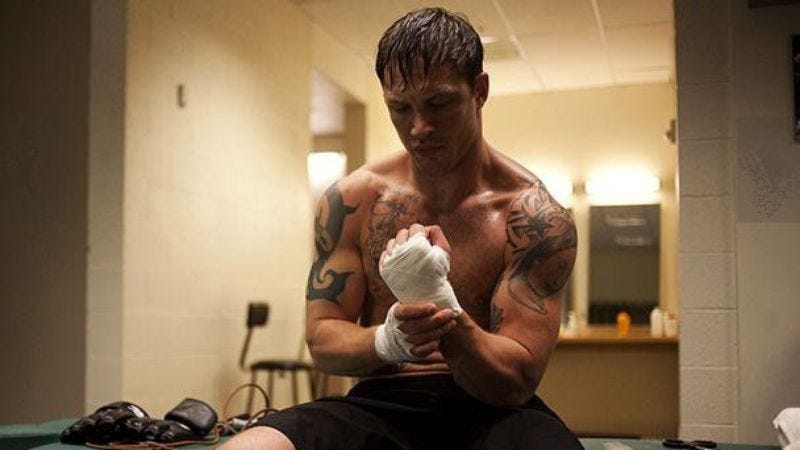 Illustration for article titled Tom Hardy's next movie fight will be with post-traumatic stress disorder