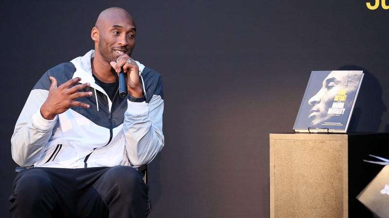 Bryant promoting his book The Mamba Mentality: How I Play