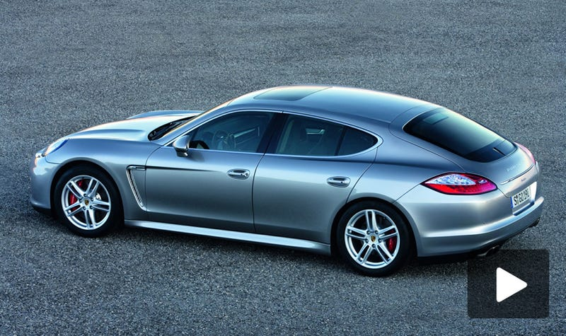 Illustration for article titled VIDEO: Four-Door Porsche Panamera, Officially Official!