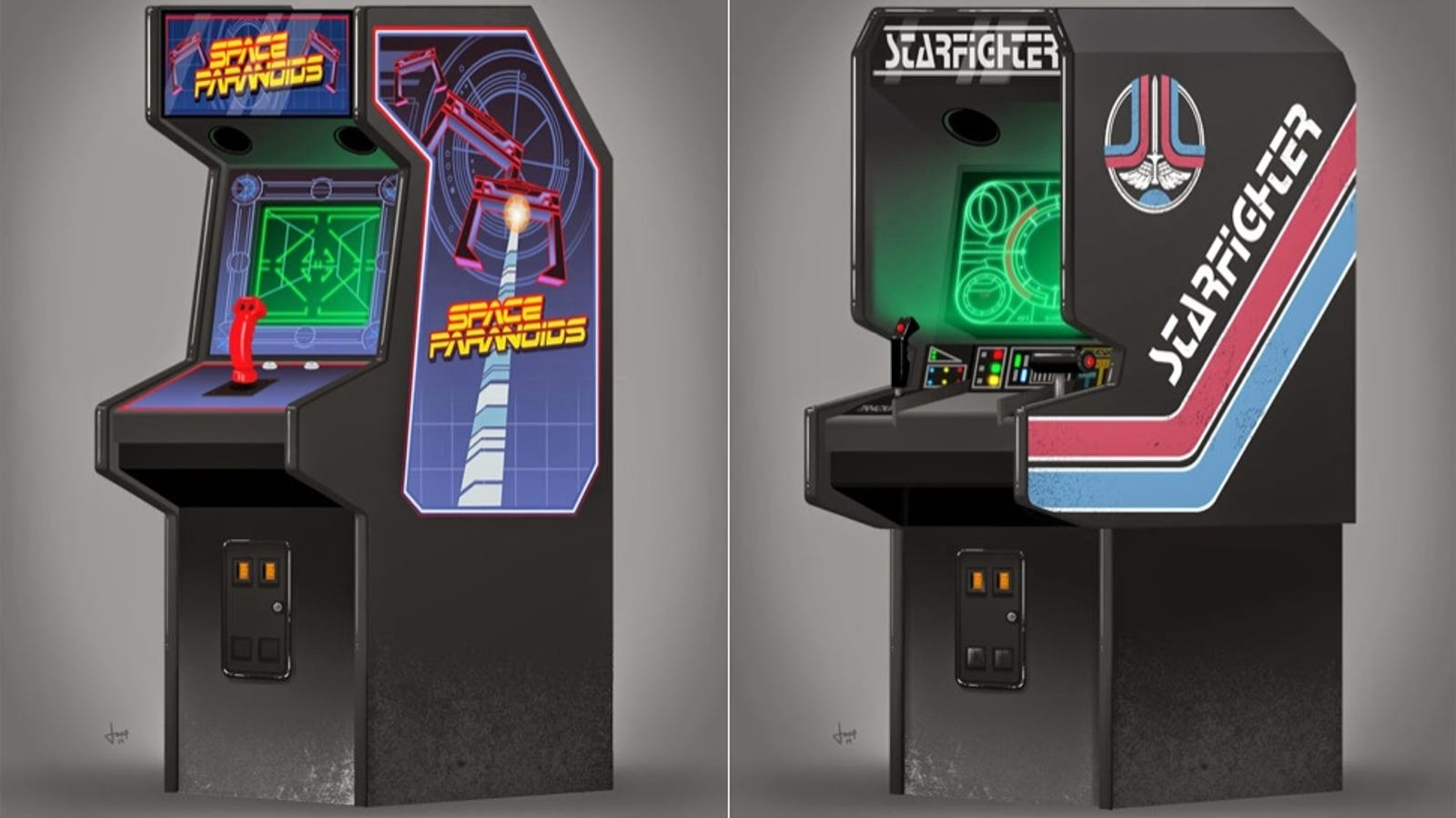 If The Arcade Game From Tron Existed It D Look A Lot Like