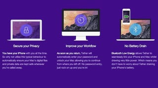 Tether Locks and Unlocks Your Mac Automatically with Your iPhone