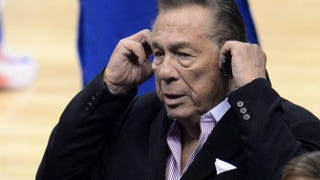 Los Angeles Clippers co-owner Donald Sterling attends the NBA playoff game between the Clippers and the Golden State Warriors, April 21, 2014 at Staples Center in Los Angeles, Calif.ROBYN BECK/AFP/Getty Images