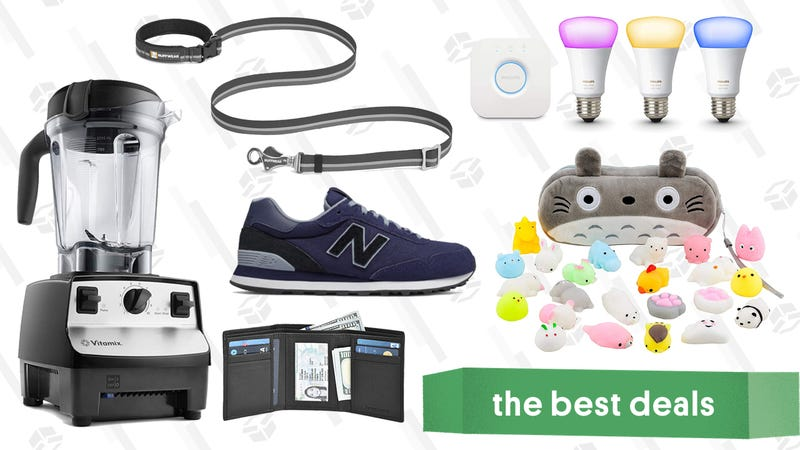 Illustration for article titled Saturday's Best Deals: Philips Hue, Paula's Choice, Vitamix, and More