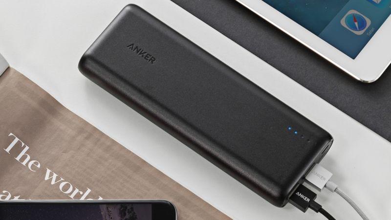 Batería Anker PowerCore 15600 | $30 | AmazonGráfico: Shep McAllister