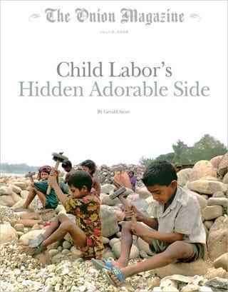 Illustration for article titled Child Labor's Hidden Adorable Side