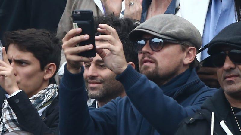 Leo, he's just like us.