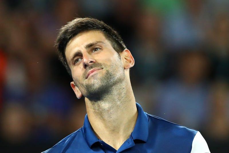 Illustration for article titled Novak Djokovic Might Be Boned