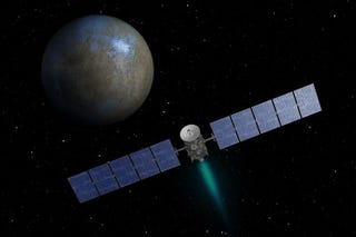 Illustration for article titled Dawn On Alternate Approach To Ceres After Cosmic Ray Hiccups Ion Drive