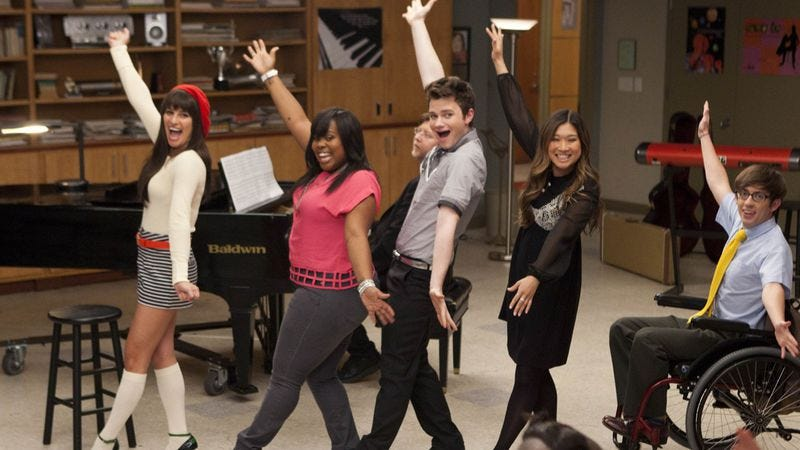"Illustration for article titled Glee: ""Goodbye"""