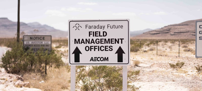 You can see more of Faraday Future's building site right here on their website. Photo Credit: FF