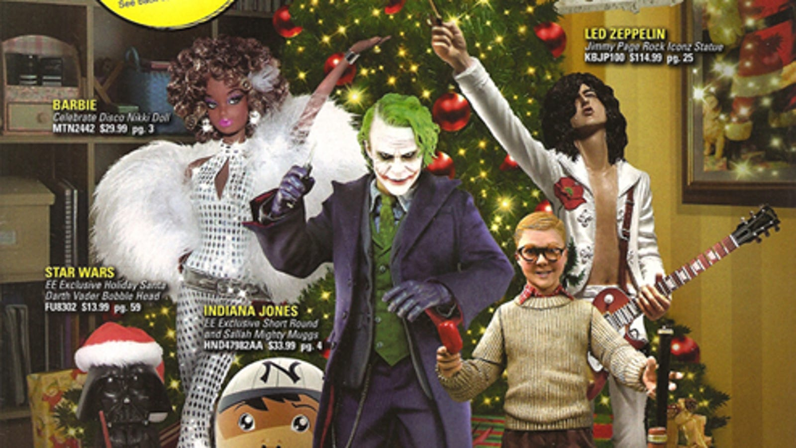 entertainment earth weird gifts for the freaks geeks on your list - Led Zeppelin Christmas