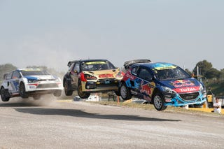 Illustration for article titled Three Teams Battle For The World Rallycross Team Championship Sunday