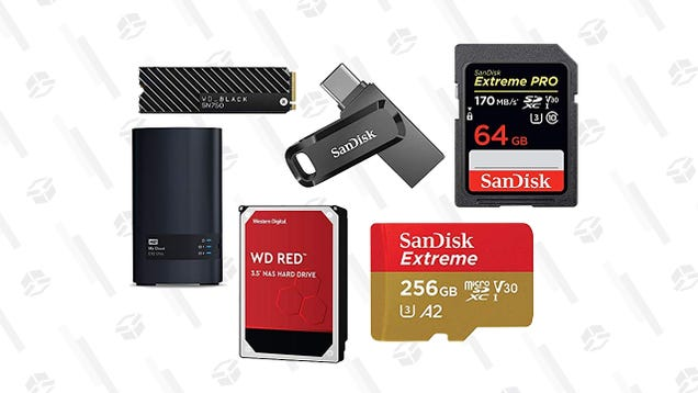 There s Enough Digital Storage For Everyone In This Gold Box Sale