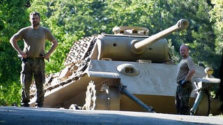 WWII-era Panther tank seized from pensioner's cellar
